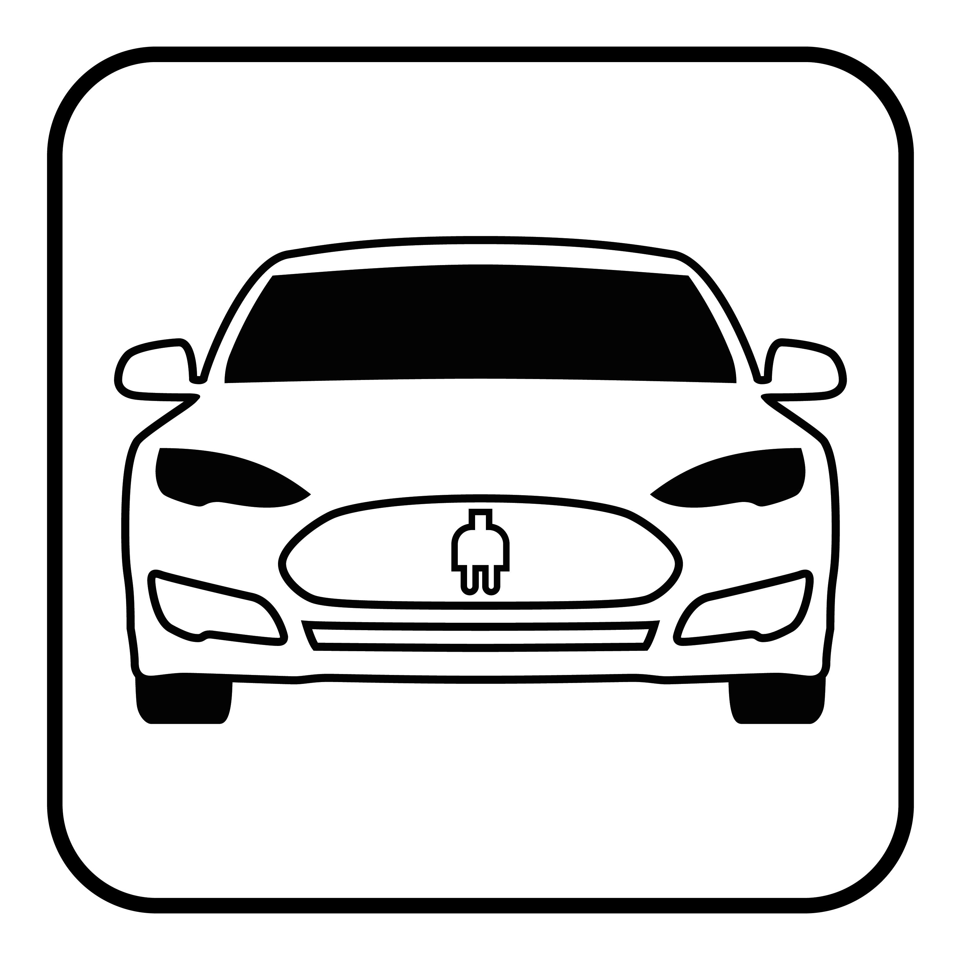 Electrical cars icon