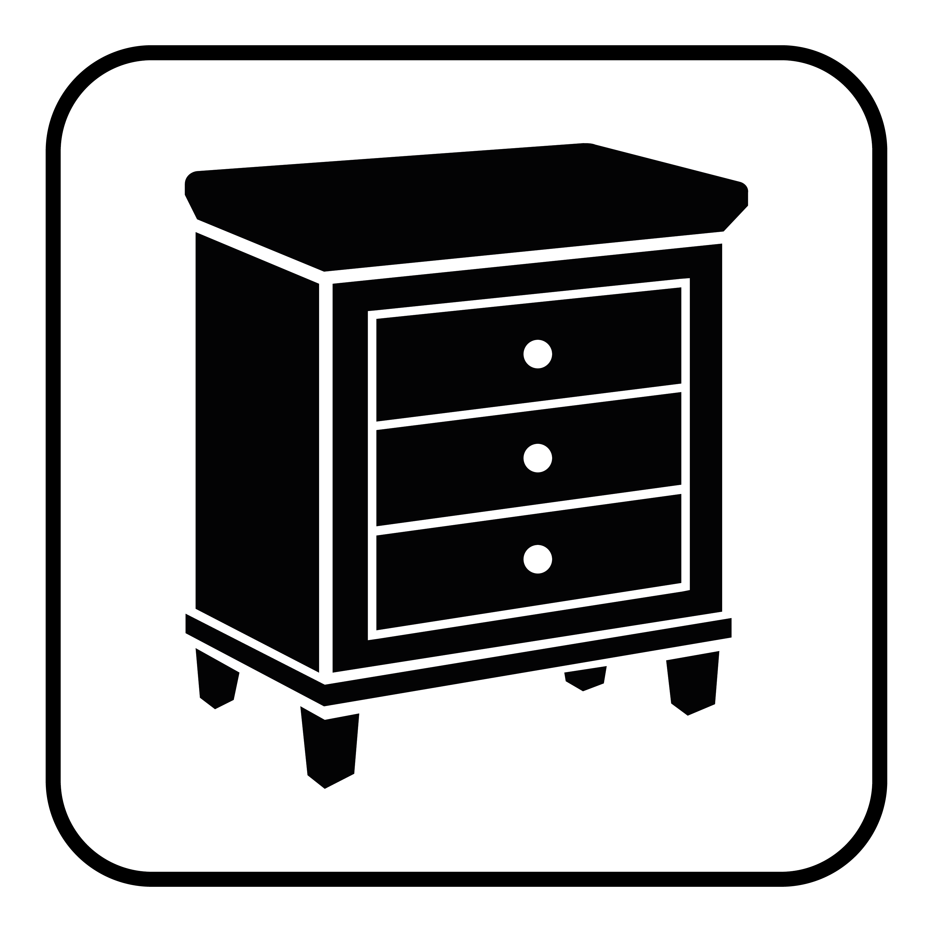 Antique furniture icon